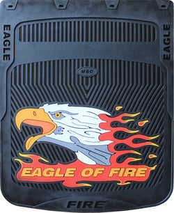 "Eagle of Fire Mud Flap Horizontal 24""x 24"""