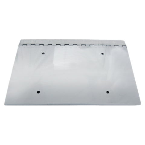 13 1/2 Inch x 8 Inch Hinged License Single Plate Holder