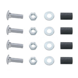 Mud Flap Top Plate Mounting Hardware Kit Bolt Thru