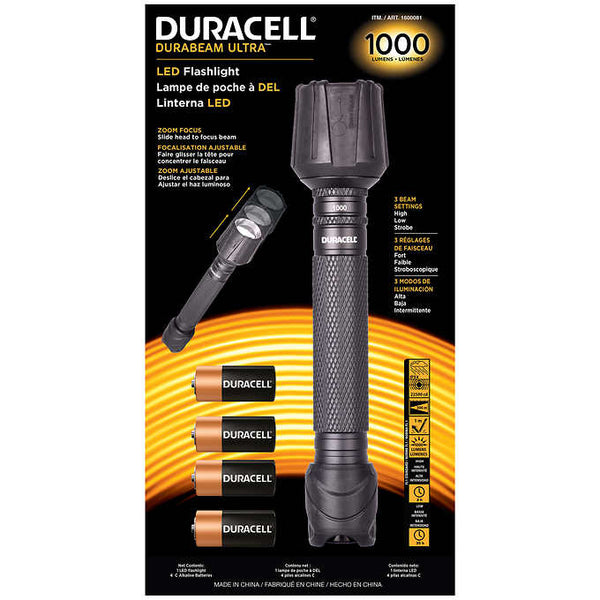 Duracell 1000 Lumen Flashlight