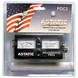 Astatic PDC2 SWR/ RF Field Strength Meter