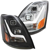 Volvo VN/VNL 2004 And Newer Projection Headlight With Light Bar
