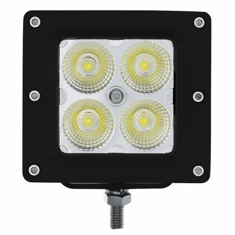 "4 High Power LED ""X2"" Light w/ Bracket Mount"