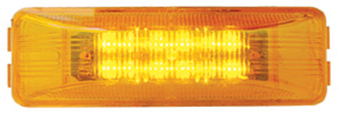12 LED Rectangular Clearance Marker