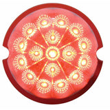 17 LED Flush Mount Watermelon Light Reflector w/ Visor