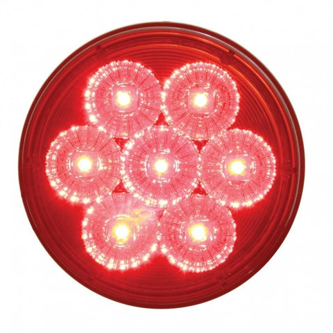 "7 LED Reflector 4"" Stop, Turn & Tail Light"