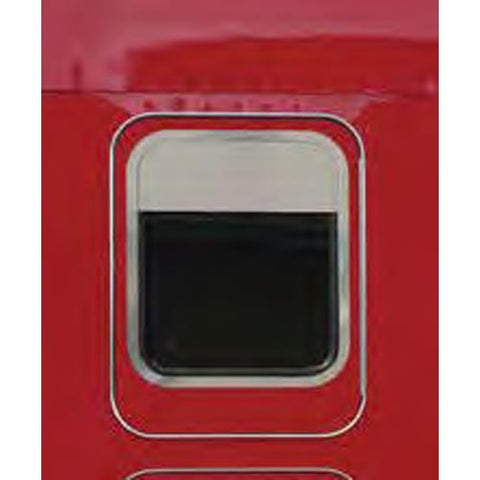 Kenworth Stainless Steel Chop Top Sleeper Window Trim