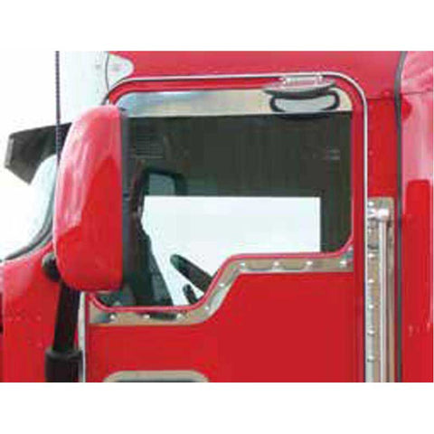 Kenworth Daylite Door Contoured Under Window  Slim Trim