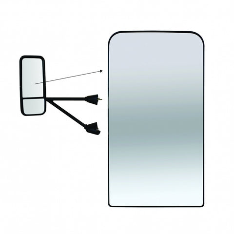Kenworth T600/T660/T800 Series Mirror Only (Main) - Heated