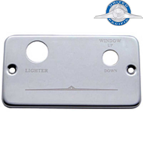 Freightliner Stainless Steel Lighter Dash Plate for Right