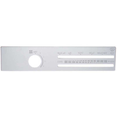Freightliner Stainless A/C Control Plate