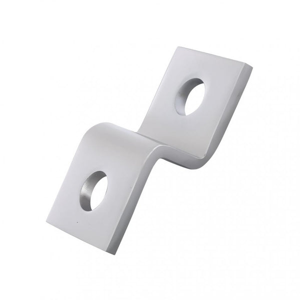 "Chrome Heavy Duty ""Z"" Mounting Bracket"