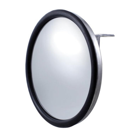 "7 1/2"" Stainless Convex Mirror - Center Stud"
