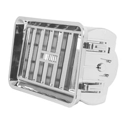 A/C Vent with Adjustable Louver and Frame for Freightliner Classic/FLDs
