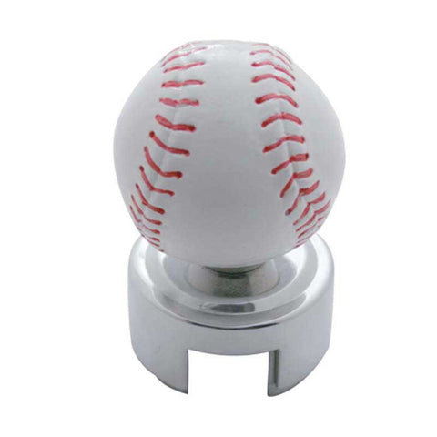 Baseball Gearshift Knob with Adaptor