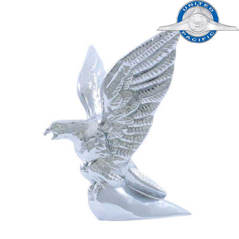 Hood Ornament Chrome American Eagle