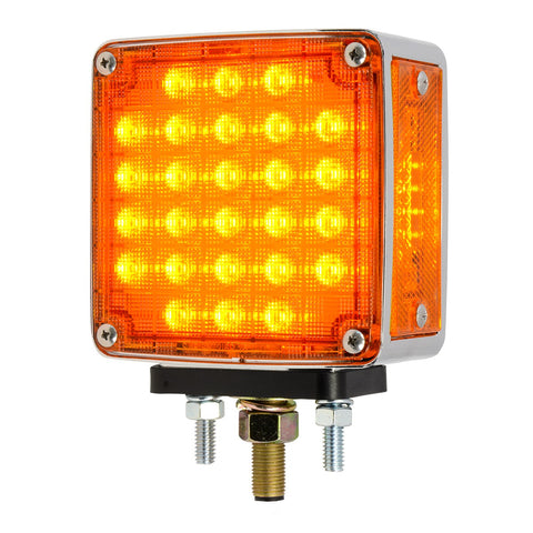 Double Face Square Smart Dynamic LED Pedestal Light