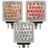 Square Double Face 24 LED Pedestal Clearance Light