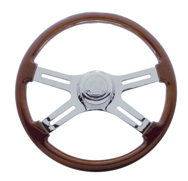 18 Inch 4 Spoke Steering Wheel for 1989-2006 Freightliner