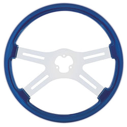 18 Inch Steering Wheel with Chrome Spoke