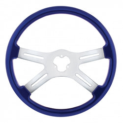 "18"" Vibrant Color 4 Spoke Steering Wheel"