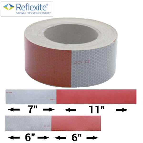 Reflexite Reflector Tape 150 Foot Roll in 2 Pattern Options