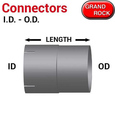 I.D to O.D Diameter Pipe Connectors 5 inch