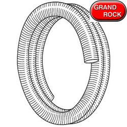 4 Inch Heavy Duty Galvanized Flex Metal Hose