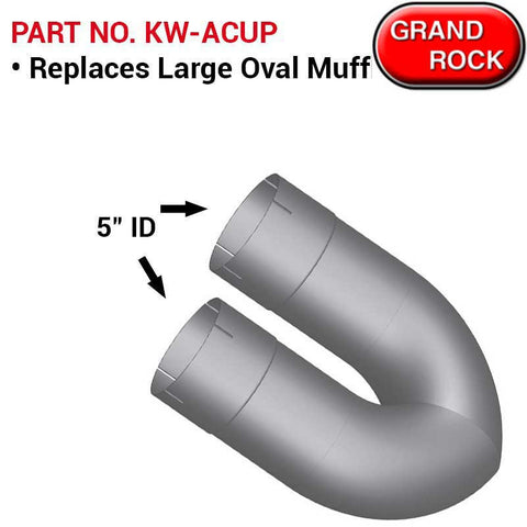 Kenworth Large Oval Muffler Replacement