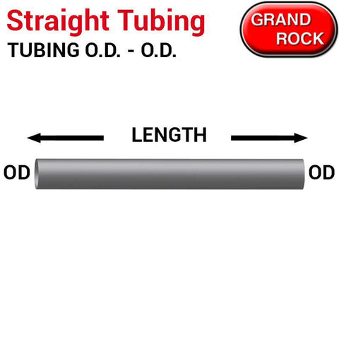 "120"" Length Straight Aluminized Tubing Different O.D 5"""