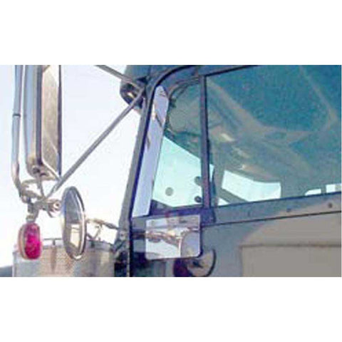 "Freightliner FLD 19"" Window Air Deflectors"
