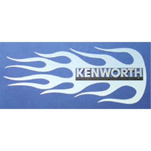 Kenworth Side of Hood Logo Trim - Blaze