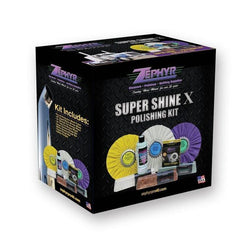 ZEPHYR SUPER SHINE X POLISHING KIT