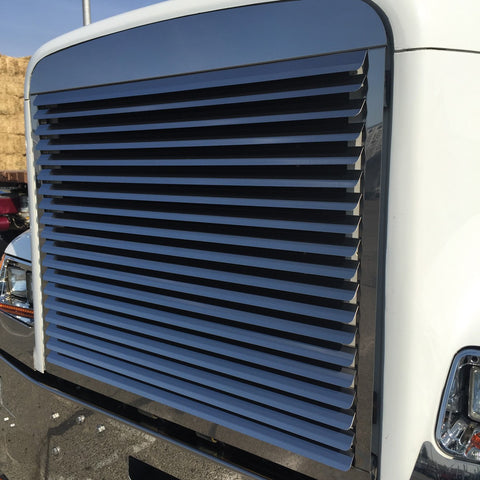 Freightliner Classic Stainless Louvered Grill