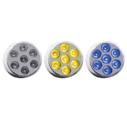 "2"" Dual Revolution Amber/Blue LED (7 Diodes)"