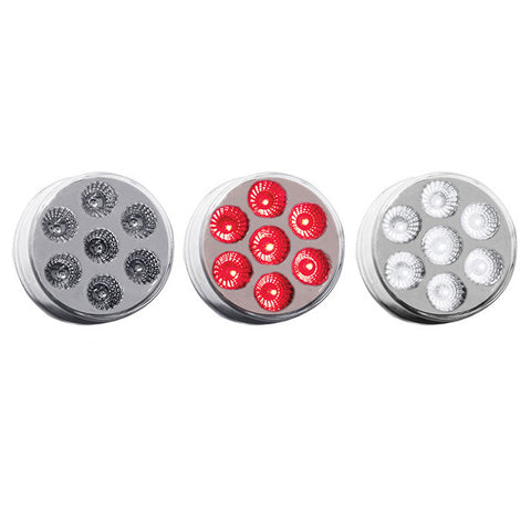 "2"" Dual Revolution Red/White LED (7 Diodes)"