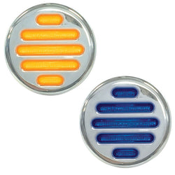 "2"" Dual Flatline Marker LED - Amber / Blue"