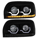 """Blackout"" Freightliner Century Projection Headlight - Passenger"