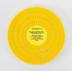 60 Ply Yellow Mill Treated Cotton Cutting Wheel