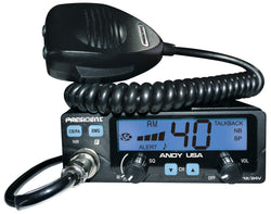 President ANDY 40 Channel CB Radio