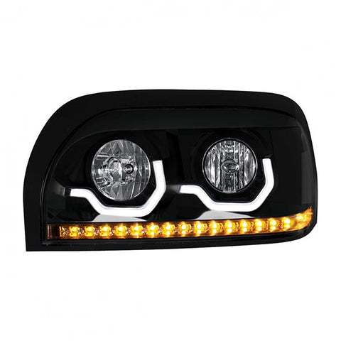 """Blackout"" Freightliner Century Projection Headlight - Driver"