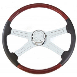 "20"" Four Spoke Chrome Steering Wheel"