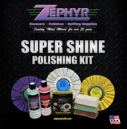 ZEPHYR SUPER SHINE POLISHING KIT