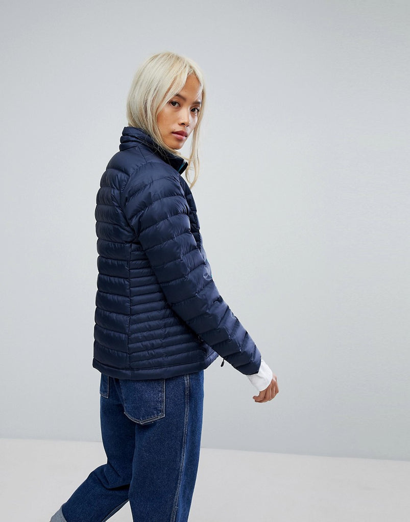 Down Jacket In Navy