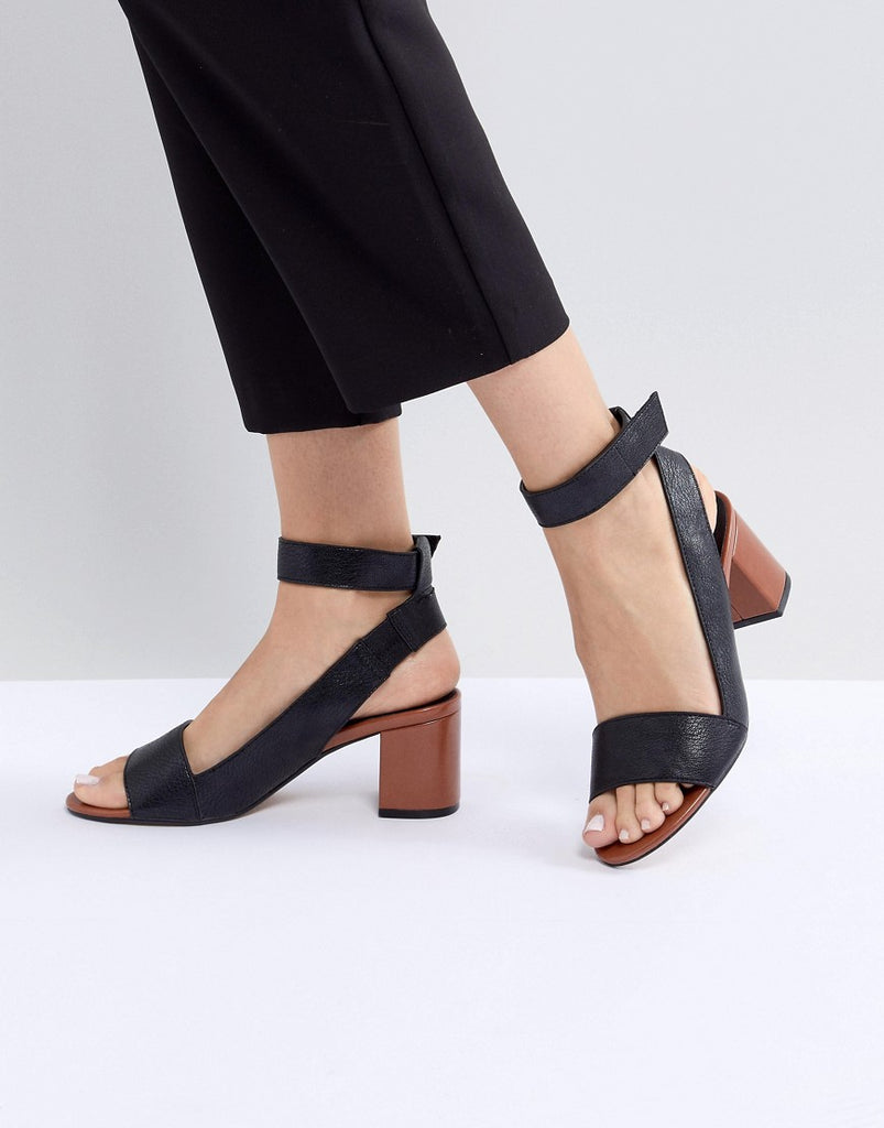 Gwen Vegan Block Heel Sandals