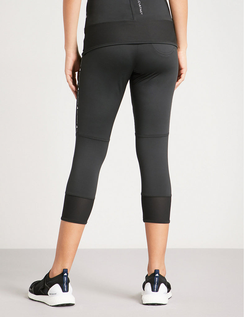 Performance Essentials Cropped Jersey Leggings