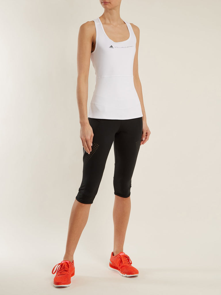 Run cropped performance leggings