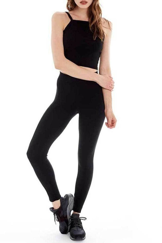 Seam Front Leggings