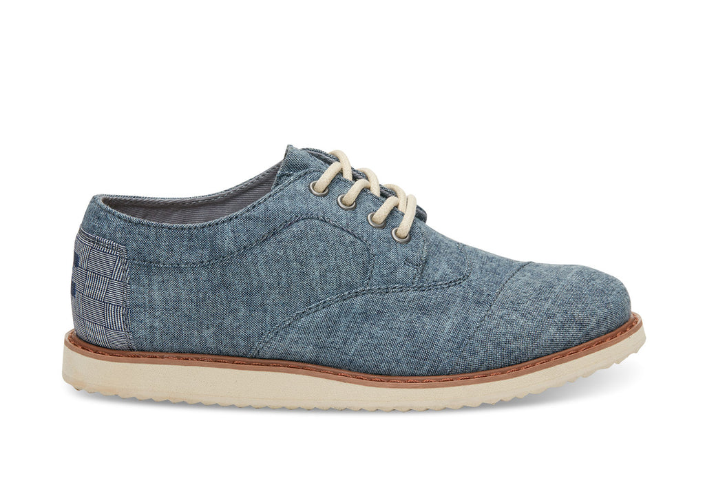 Chambray Youth Brogues