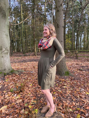 Hayden Dress in Olive